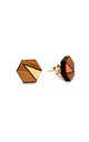 Elsa Studs Copper by Form London