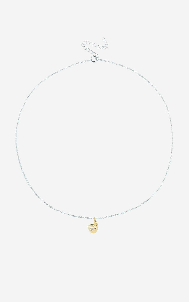 OK Sterling Silver Emoji Necklace by Rock N Rose