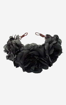 OPHELIA Floral Crown Headband by Rock N Rose