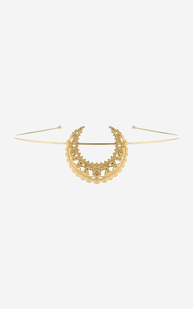 EARTHA Crescent Tiara Headband by Rock N Rose