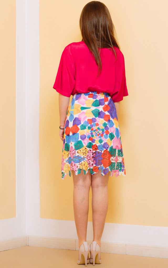 Push The Button Skirt by KITES AND BITES