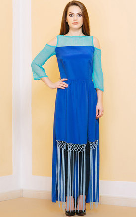 Sun Is Up Long Sleeve Maxi Dress by KITES AND BITES Product photo