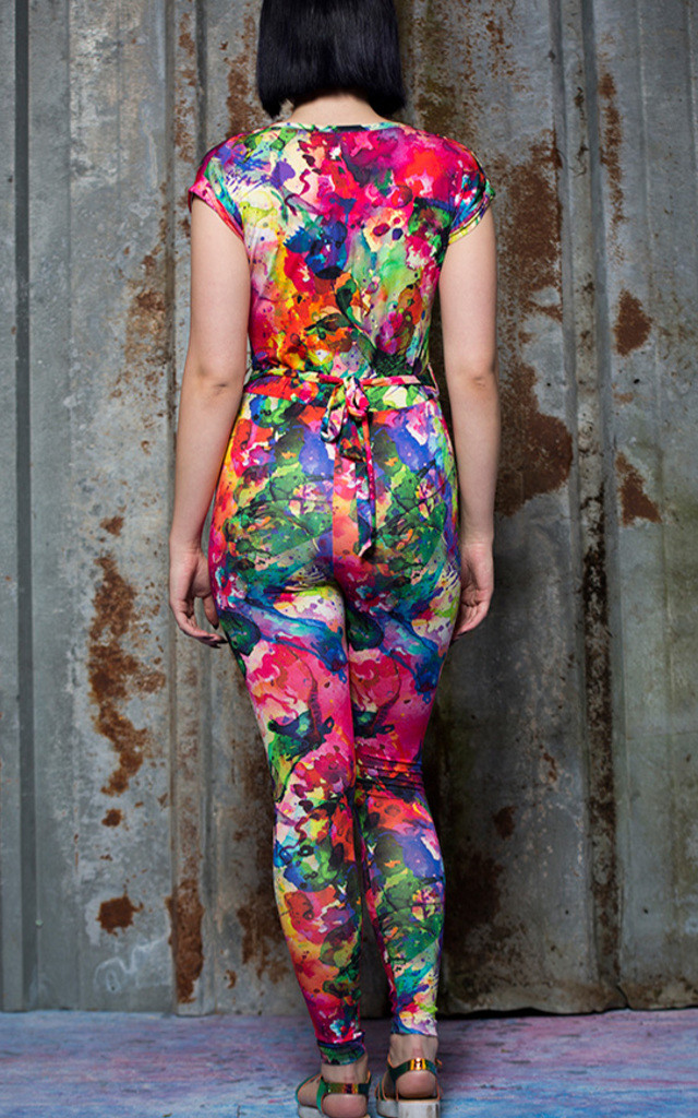 Cross Front Jumpsuit by Get Crooked