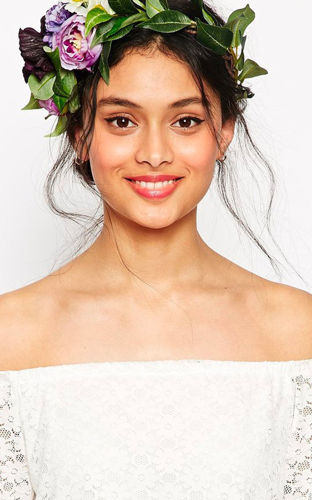 DELILAH Floral Wreath Crown by Rock N Rose