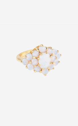AGNES Opal Cocktail Ring by Rock N Rose