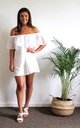 BOHO BELLA - Organic cotton bardot dress by Terra Dea