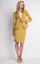 Mustard Short Jacket by Lanti