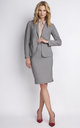 Grey Short Jacket by Lanti