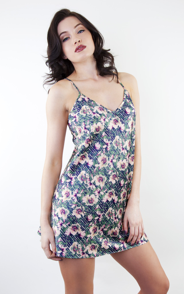 Lotus Print Nightdress by Playful Promises