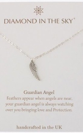 Guardian Angel Wing Gift Card by Diamond in The Sky