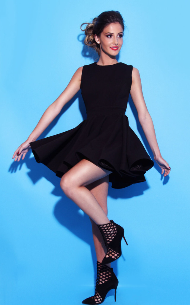 Audrey Dress - Black by Rebecca Rhoades