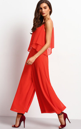 Layered Culotte Jumpsuit by Oeuvre