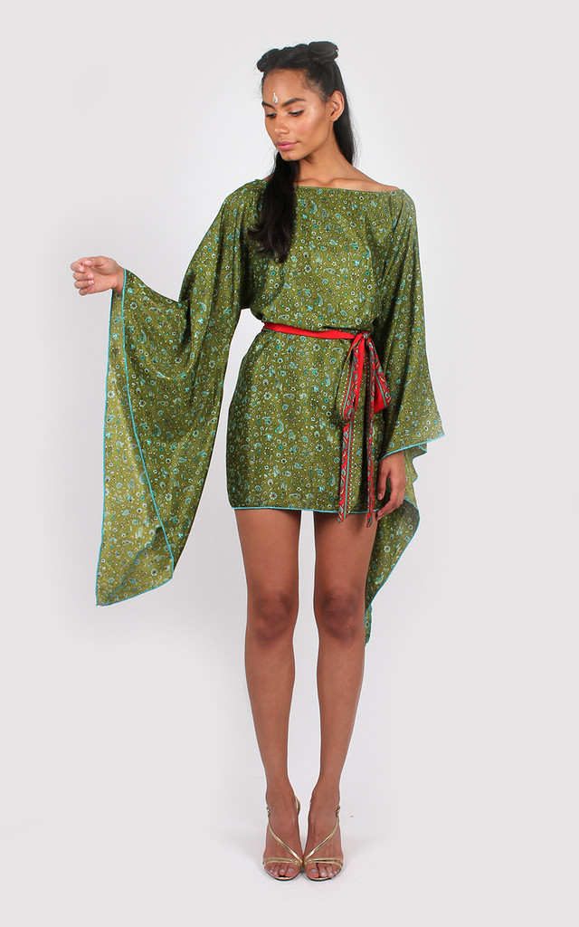 Milly Dress Green by Bullet