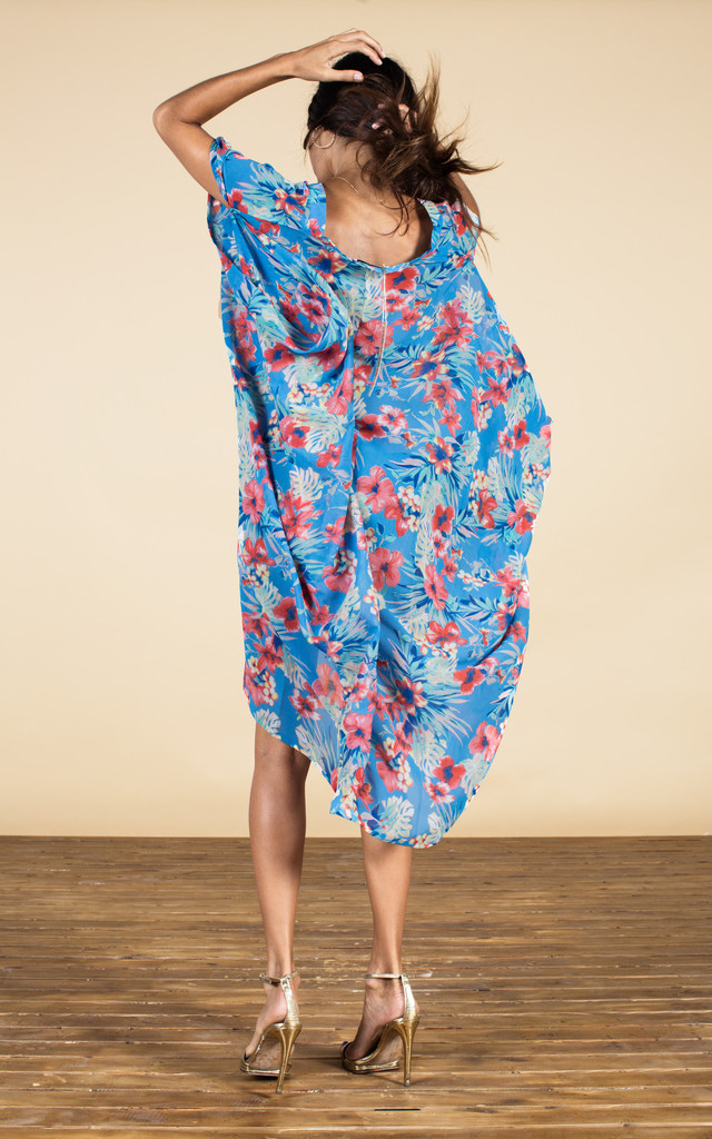 Cruz Poncho in Blue Hawaii image