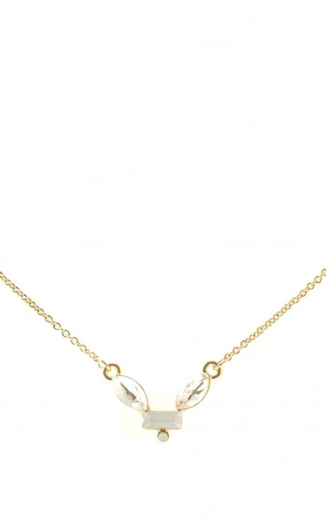 Aria Ivory Stone Necklace by Johnny Loves Rosie