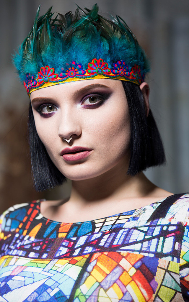 Feather Headdress by Get Crooked