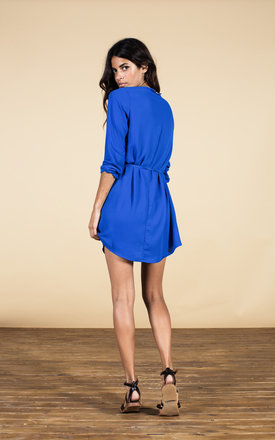 Valentina Dress in Royal Blue by Dancing Leopard
