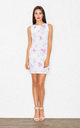 Floral Print sleeveless mini dress by FIGL