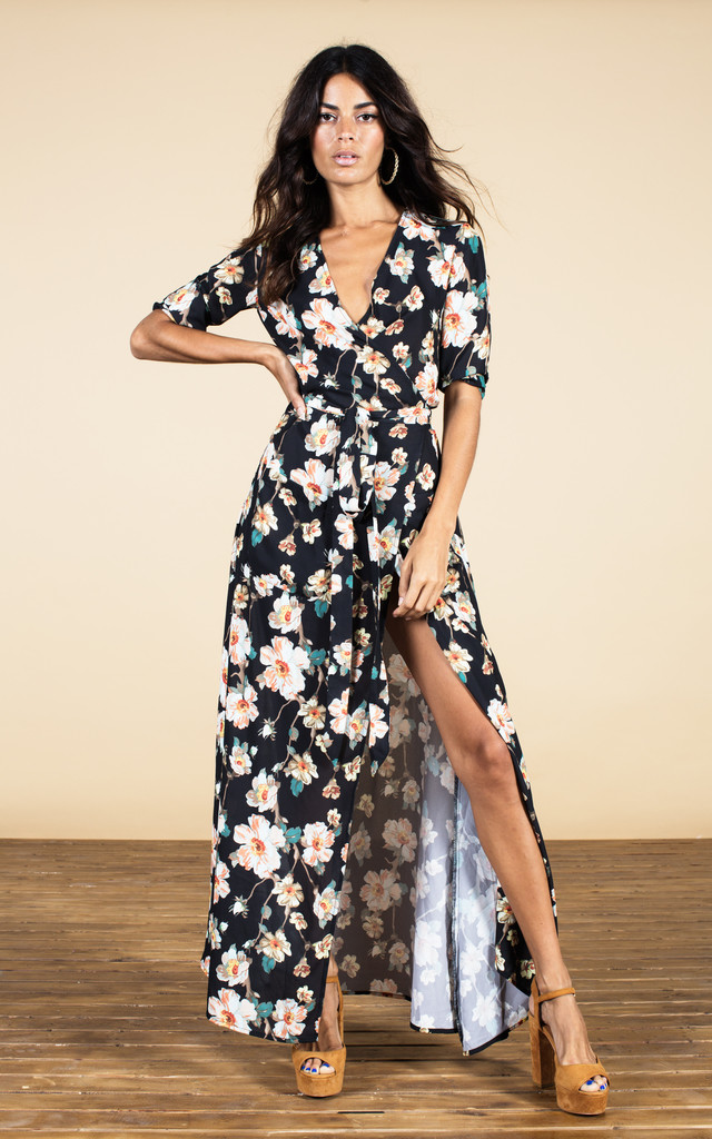 Zahara Dress in Floral Print image
