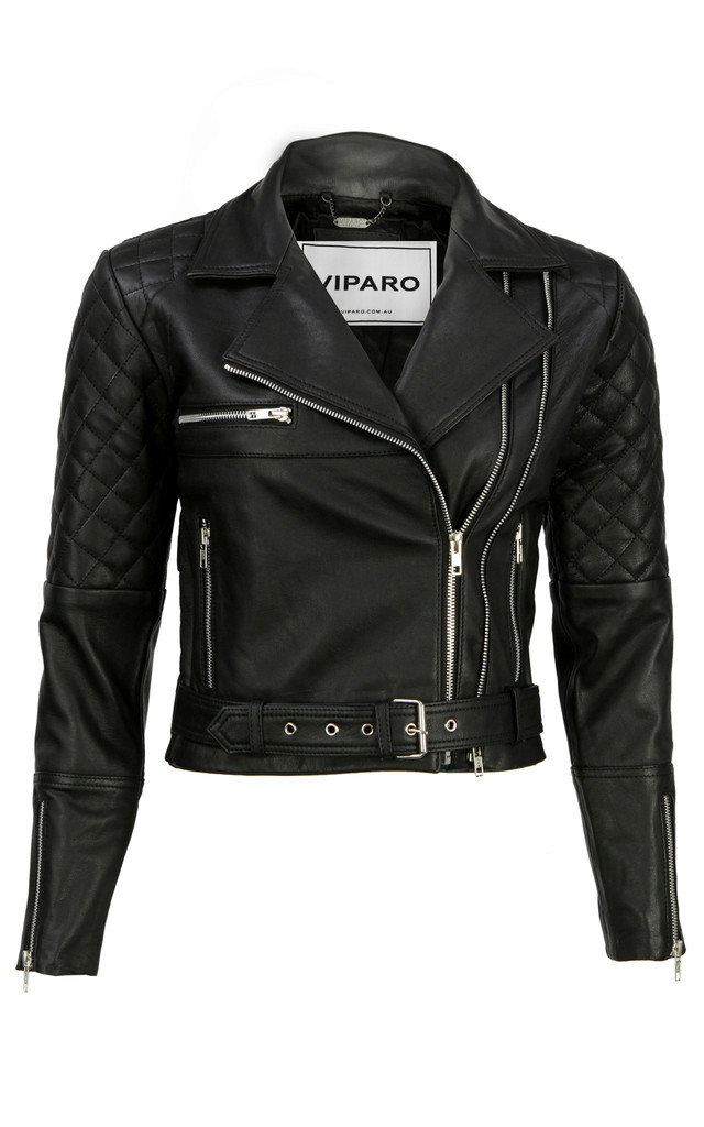 Black Adrienne Jacket by VIPARO