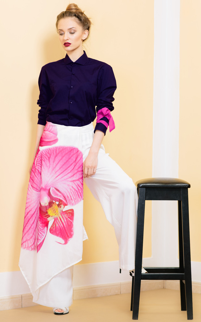 Be Always Blooming Trousers by KITES AND BITES