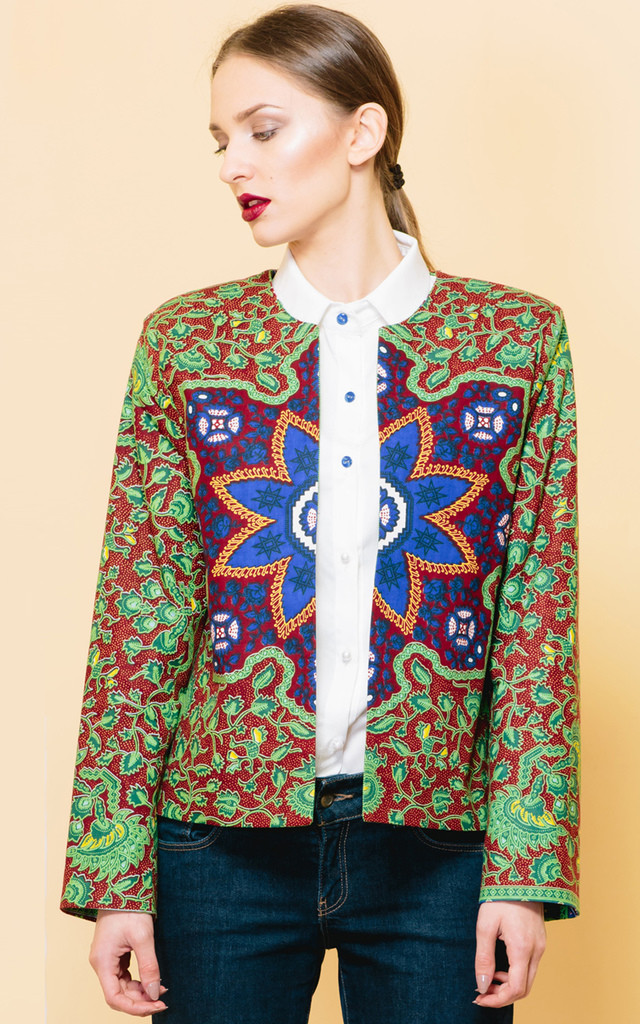 I See Your True Colours Blazer by KITES AND BITES