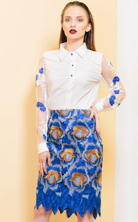 Secret Garden Skirt by KITES AND BITES Product photo