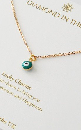 Evil Eye Necklace Gift Card by Diamond in The Sky