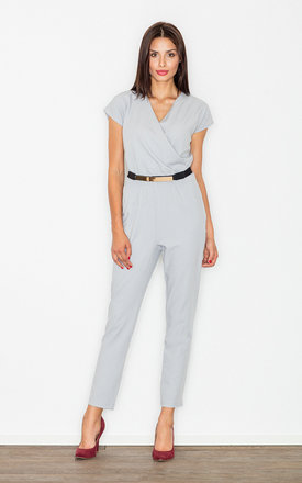 Grey elegant jumpsuit by FIGL