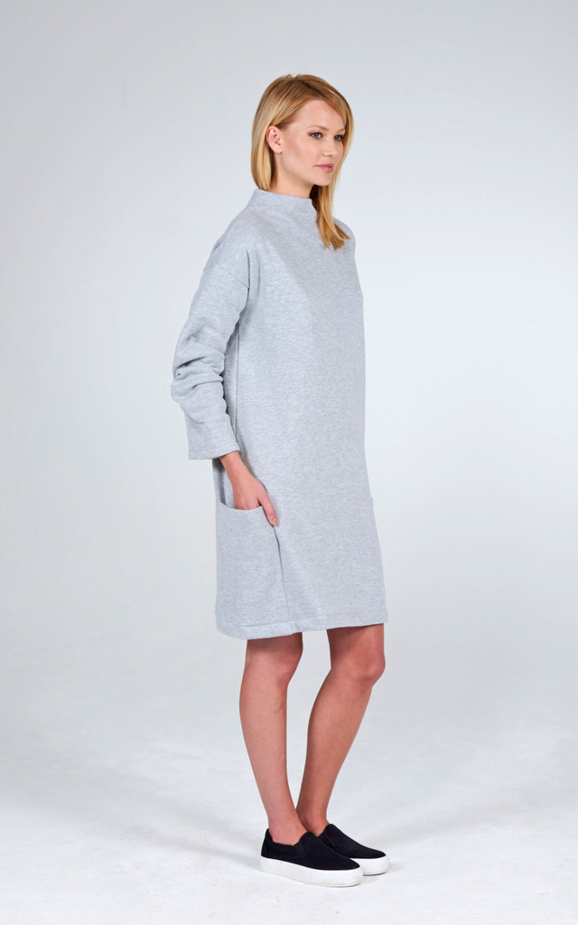 Fleece Tunic Dress by Lily and Carter London