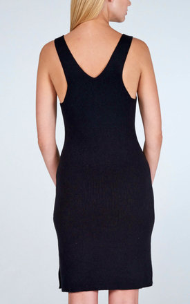 Cashmere Racer Back Dress by Lily and Carter London