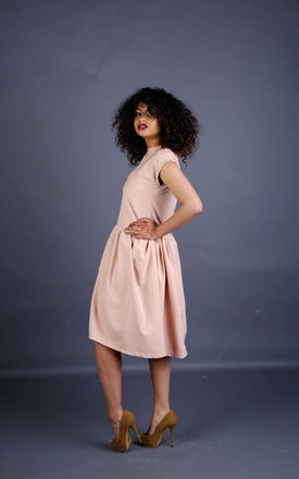 Abbie2 - Rose Linen Dress by Madia & Matilda