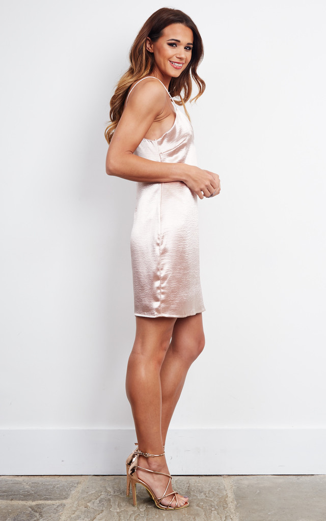 Nude Slip Dress by Glamorous