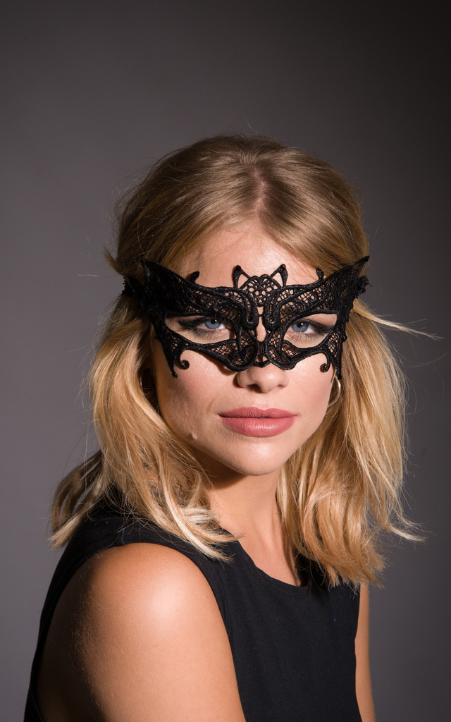 Bat Girl Masquerade Mask by Stephanieverafter