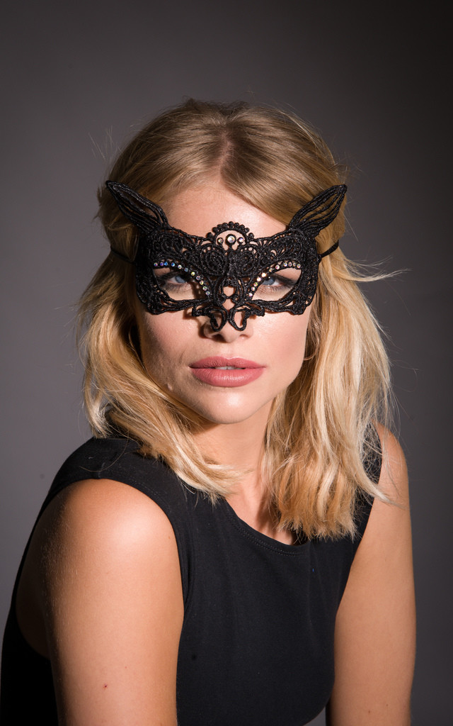 Feline Masquerade Mask by Stephanieverafter