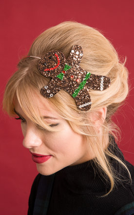 Gingerbread Hairband by Stephanieverafter