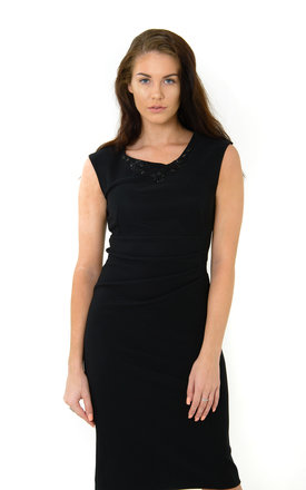 The Lucinda Black Midi by Off the Catwalk