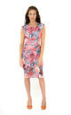 The Carrie Floral Midi by Off the Catwalk
