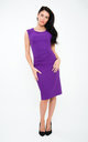 The Grace Purple Midi by Off the Catwalk
