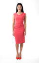 The Grace Coral Midi by Off the Catwalk