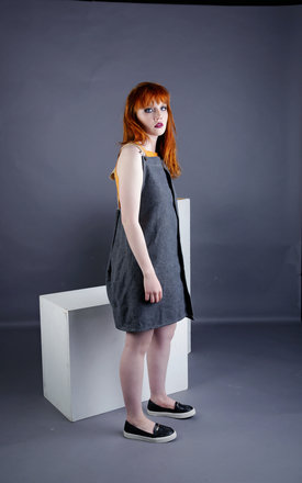 Eloise - Dungaree Dress by Madia & Matilda