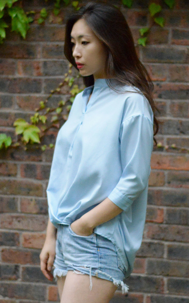 Boxy blouse by Darimeya London