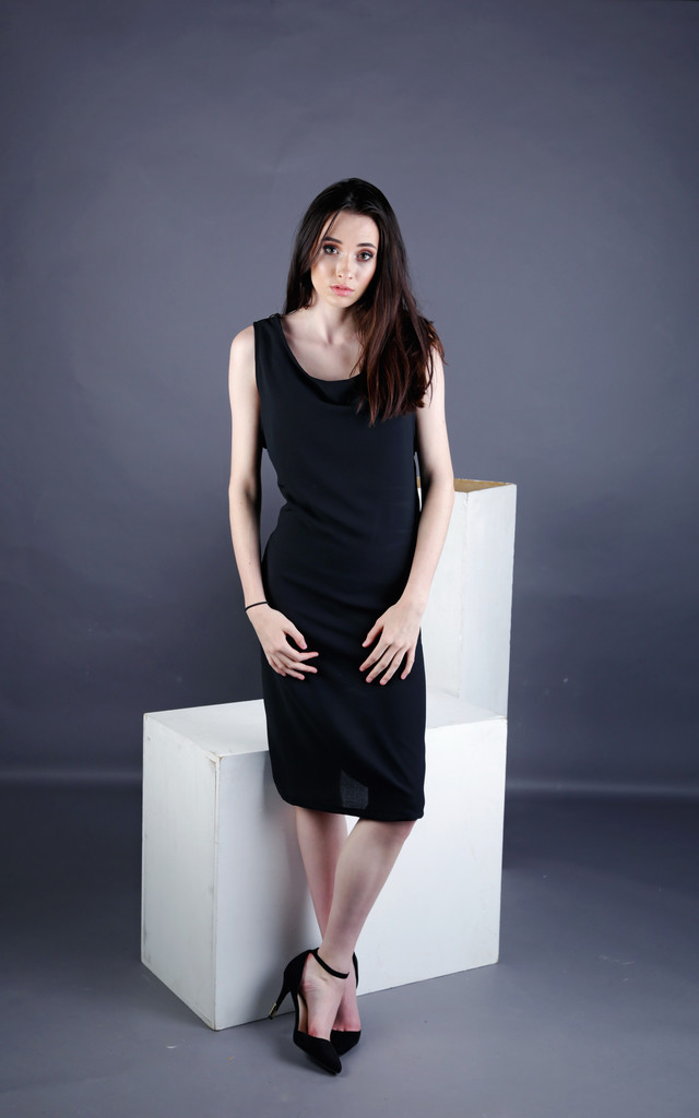 Elsa Dropped Armscye Shift Dress by Madia & Matilda