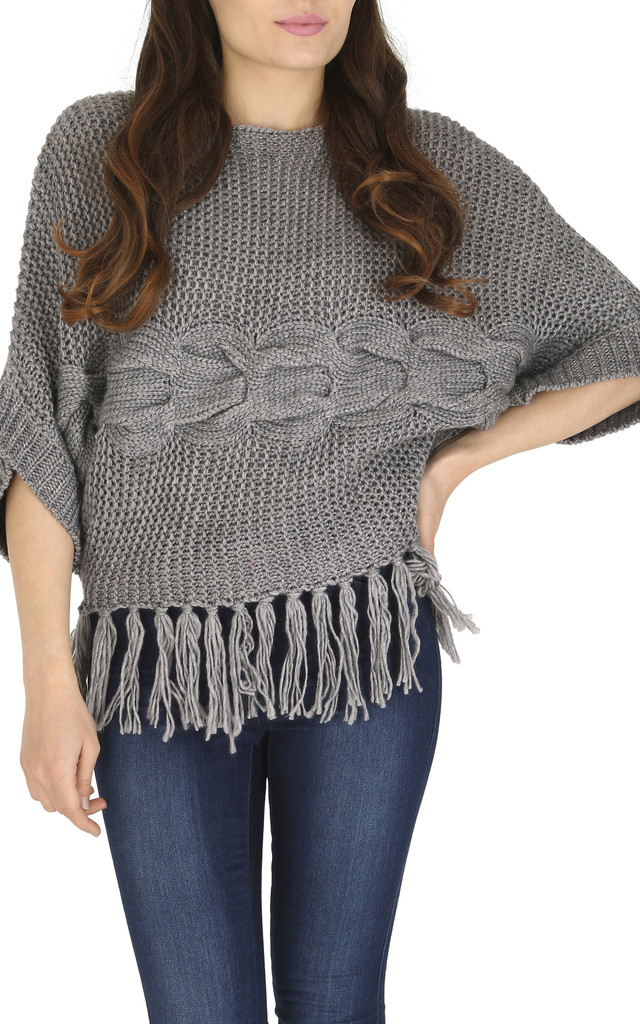 Chunky Knit Jumper by Cutie London