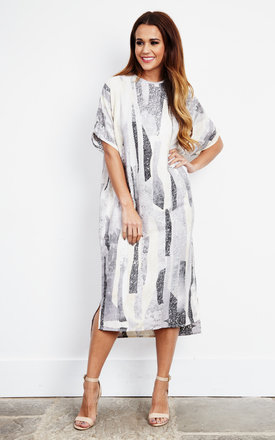 Rockslide Print Dress by Native Youth