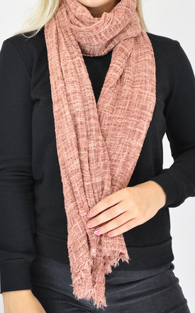 PLAIN WOVEN OVERSIZED SCARF by GOLDKID LONDON