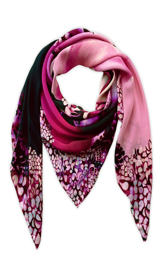 Cameilla Oversized Luxury Scarf by Leanne Claxton