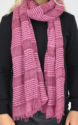 PLAIN WOVEN OVERSIZED SCARF-MAROON by GOLDKID LONDON