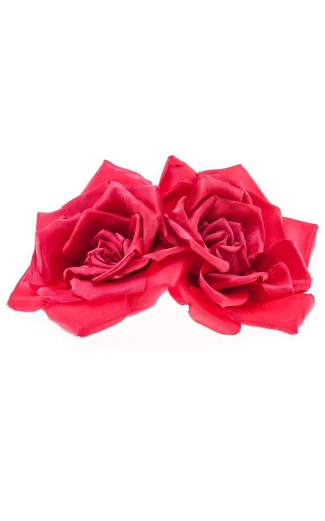 Serena Pink Double Rose Corsage by Johnny Loves Rosie