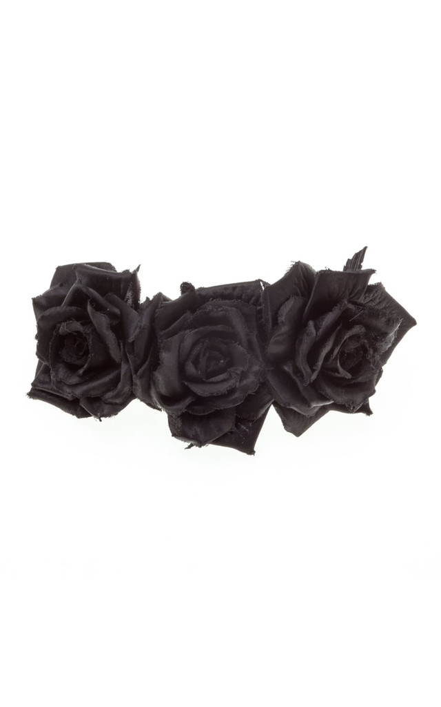 Serena Black Triple Rose Hair Clip by Johnny Loves Rosie